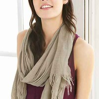 BDG Modern Gauze Blanket Scarf - Urban Outfitters