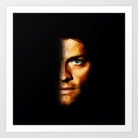 Castiel / Supernatural - Painting Style Art Print by ElvisTR