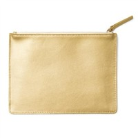 russell+hazel® Leather Mini Clutch