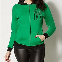 Harley Quinn & Poison Ivy Reversible Hoodie - Spencer's