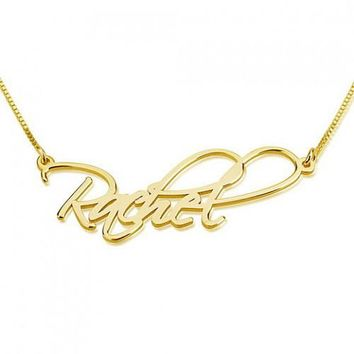 Calligraphy Script Name Necklace