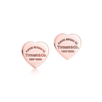 Tiffany & Co. - Return to Tiffany®:Mini Heart Earrings