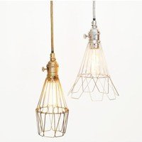 Workshop Cage Lamps by Roost - lighting & candles - house & home