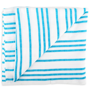 Tulum Blanket - Bright Blue
