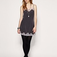 All Saints Silk Lucien Slip