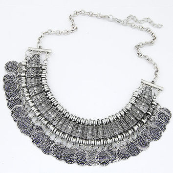 Vintage Maxi Statement Necklace