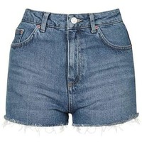 TopShop Moto Vintage Wash Mom Short
