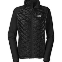The North Face Women's Jackets & Vests INSULATED THERMOBALL WOMEN'S MOMENTUM THERMOBALL™ HYBRID JACKET