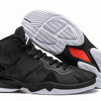 Men's Nike Air Jordan Super Fly 4 Blake Griffin Black White
