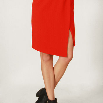 Red Revolt Skirt