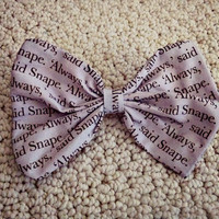 Snape Hair Bow