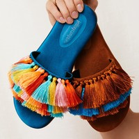 Free People Watercolor Tassel Sandal
