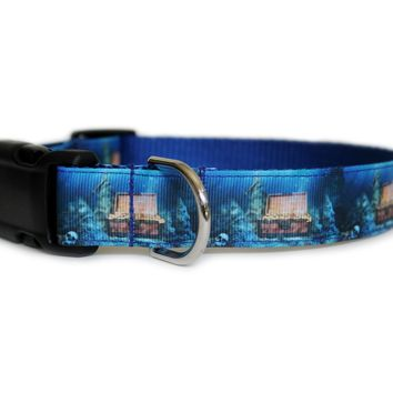 Sunken Treasure Dog Collar