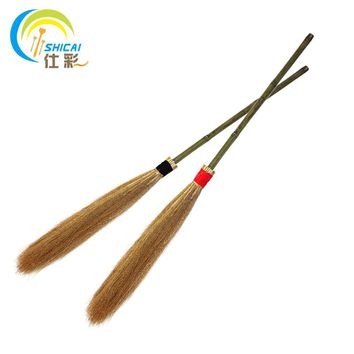 Harry Potter magic broom dance parties performances magician props Halloween witches broom length about 100CM / Free Shipping