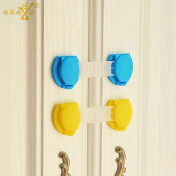 10Pcs/Lot Child Baby Safety Protector Locks Table Corner Edge Protection Cover Infant Guards Cabinet Locks Scalable  SAD-4106