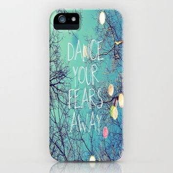 Dance Your Fears Away iPhone Case by Erin Jordan | Society6