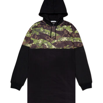 Tiger Camo Long Hoody