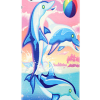 DOLPHIN FRANK IPHONE CASE