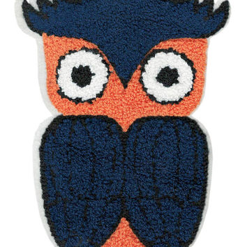 ON SALE 15% OFF Xxl Extra Large 20cm Chenille Owl Patch Applique
