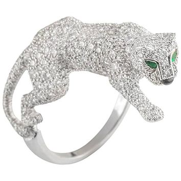Cartier Diamond Panthere Ring