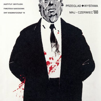 Alfred Hitchcock Film Festival 11x17 Movie Poster (1988)