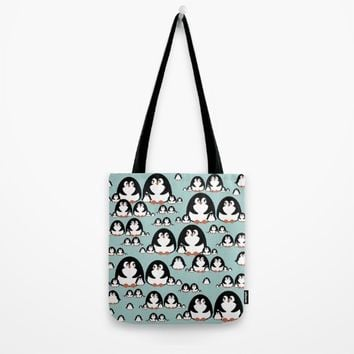 Penguins Tote Bag by VanessaGF