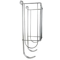 Evelots Side-Of-Tank Toilet Paper Holders Storage Easy Organizer