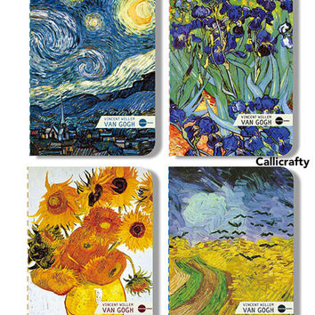 Van Gogh Art Notebook Starry Night Vintage Notebook
