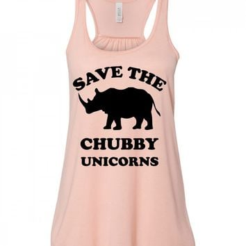 Save The Chubby Unicorns Tank Top For Women