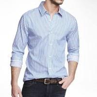 EXTRA SLIM BENGAL STRIPE DRESS SHIRT