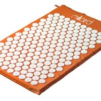 MILLIARD Therapeutic Acupressure Mat - Great for Relieving Neck, Sciatic and Back Pain - 26in.x16in - Orange