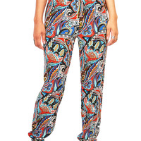 Eastern Time Pants | Bold Print Pants at Pink Ice