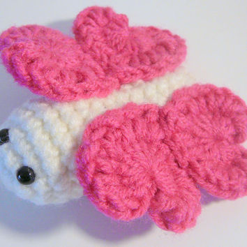 Amigurumi Butterfly PDF Crochet Pattern INSTANT DOWNLOAD