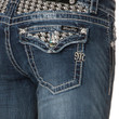 Miss Me Houndstooth Insert Skinny Jeans