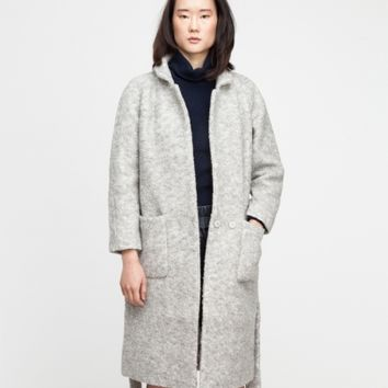 Ganni Teddy Wrap Coat
