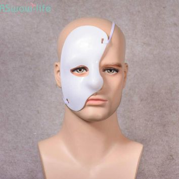 Phantom of the Opera Stage Show Drama Props Plastic Half Face One-eyed Multicolor Mask Festival Party Supplies