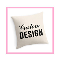 Custom Designed Decor Pillow