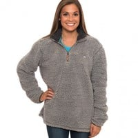 1/4 Zip Sherpa Pullover