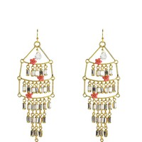 Multi Layer Chandlier Earring by Juicy Couture