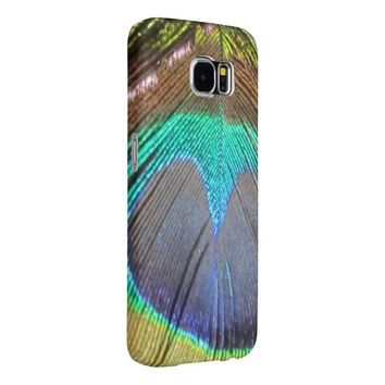 Peacock Feather Samsung Galaxy S6 Case Samsung Galaxy S6 Cases