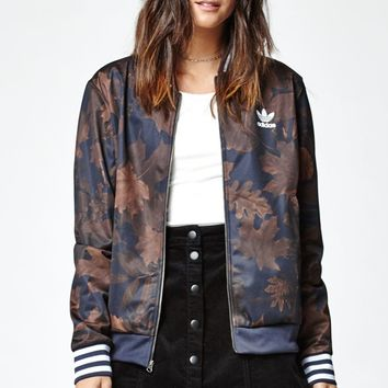 adidas Leaf Camo Superstar Track Jacket - Womens Jacket - Multi
