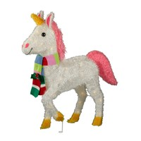 "29.5"" Tinsel Lit Unicorn with Scarf - Wondershop™"