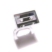 plastique*: Cassette Tape Ring Mirror, at 20% off!