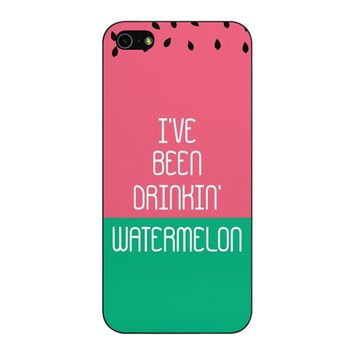 Beyonce I Ve Been Drinkin Watermelon iPhone 5/5S/SE Case