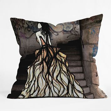 Amy Smith Escape Throw Pillow