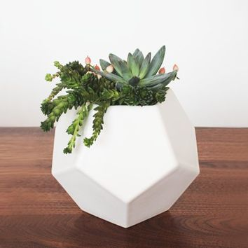 Caravan Pacific - Deca Faceted Planter Vase