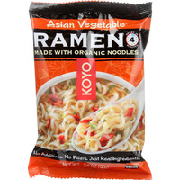 Koyo Dry Ramen - Asian Vegetable - 2.1 oz - case of 12