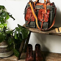 Free People Campomaggi Washed Tote