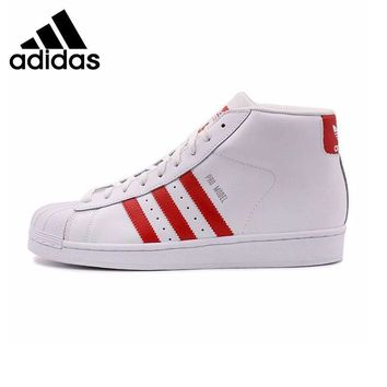 Original New Arrival Adidas Originals Superstar leather Men's Skateboarding Shoes Sn
