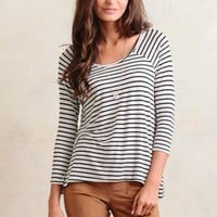 Waterfront Views Stripe Top